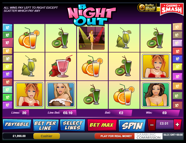 A Night Out Video Slot Game
