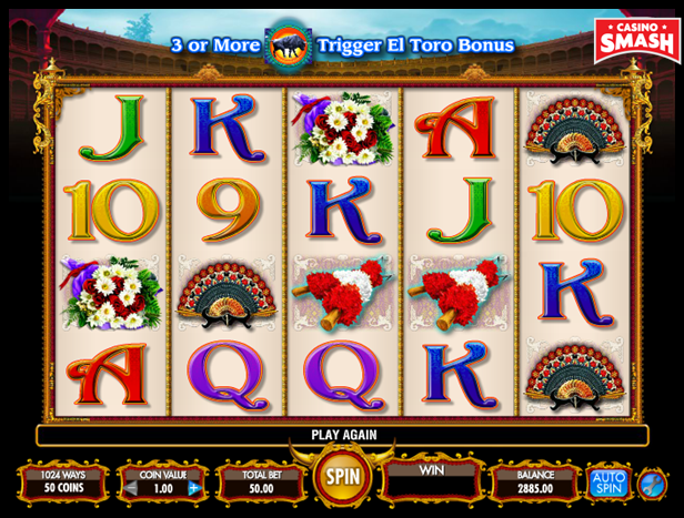 Pamplona Video Slot Game