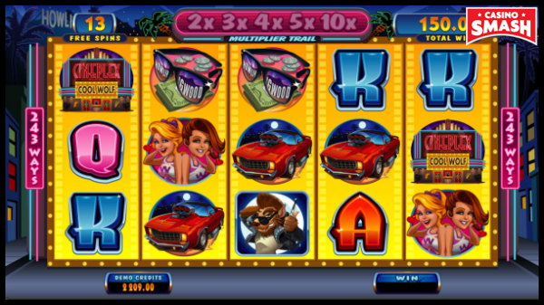 Cool Wolf Game Free Spins Feature