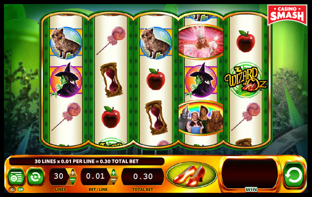 The Wizard of Oz Slots: Ruby Slippers