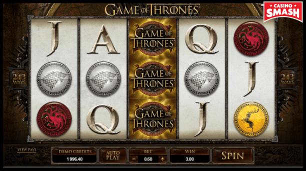 Game Of Thrones Slot Machine Online