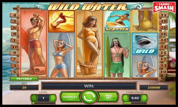 wild water free Slots with bonus rounds to play online