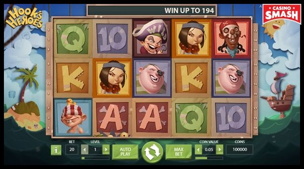 hooks heroes free Slots with bonus rounds to play online