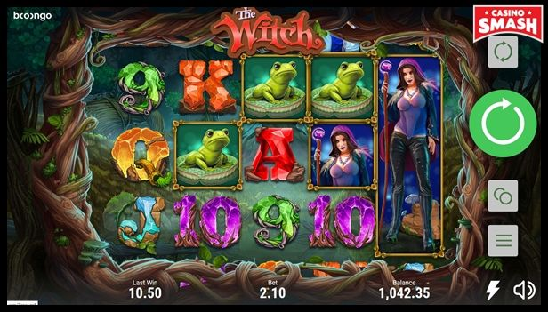the witch free Slots with bonus rounds to play online