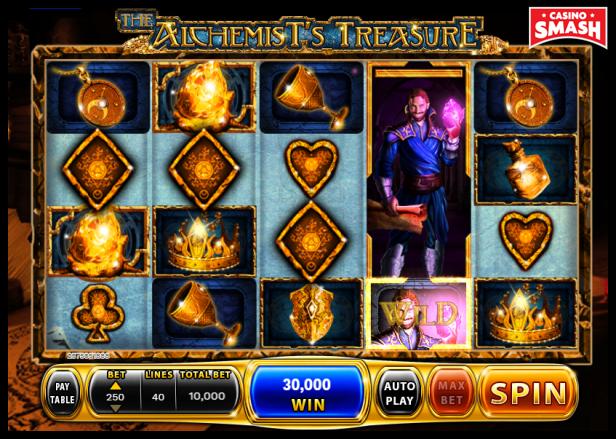 The Alchemist's Treasures Slot