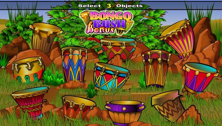 bush telegraph slot machine online