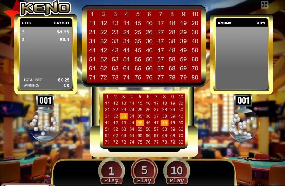 Free Keno Games Online Play Demo And Real Money Keno