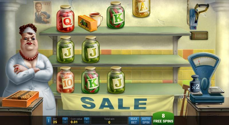 ussr grocery slot free spins