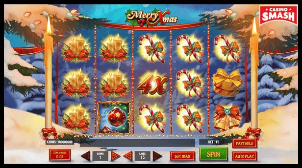 Free Christmas Slots: Merry Xmas