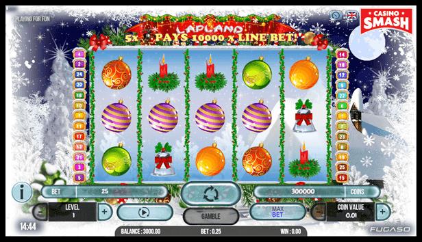 Free Christmas Slots: Lapland