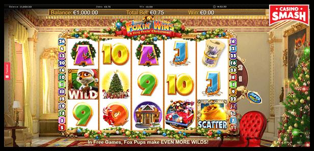 Free Christmas Slots: A Foxin' Christmas