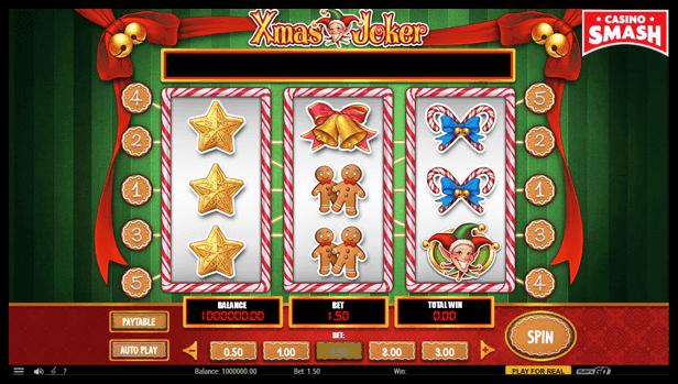 Free Christmas Slots: Xmas Joker