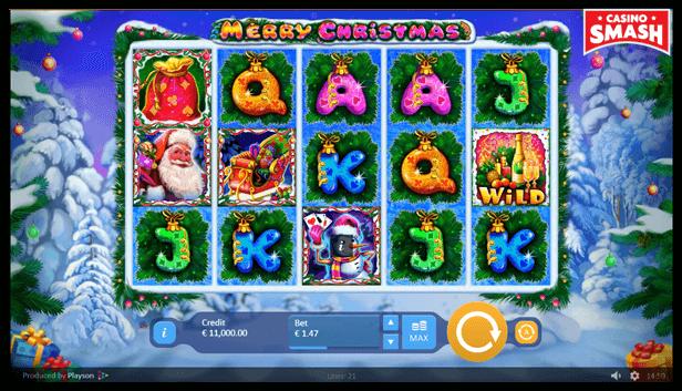 Free Christmas Slots: Merry Christmas