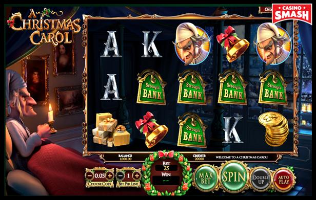 Free Christmas Slots:Christmas Carol