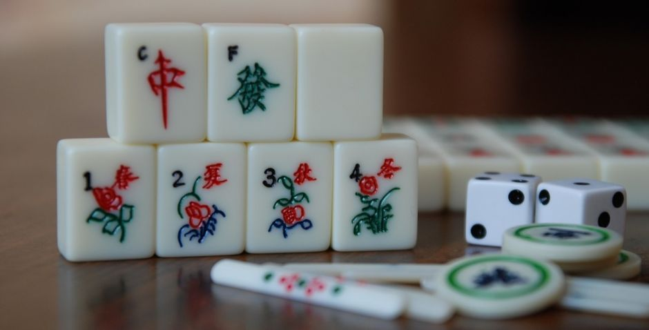 gambling anime mahjong