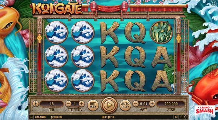 5 koi slot machine free
