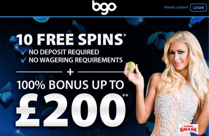 UK Casino Only: 10 No Deposit Free Spins at bgo Casino