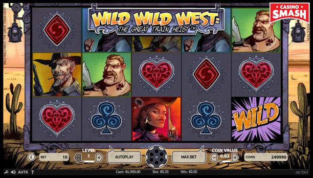 PayPal Slot Wild Wild West