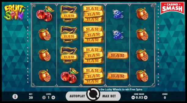 PayPal Slot Fruit Spin