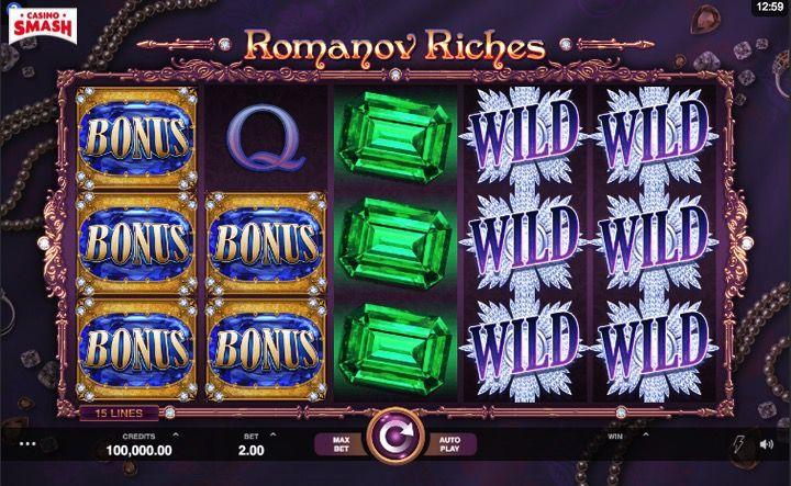 Slot 3d Gratis: Romanov Riches