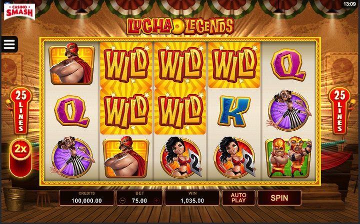Lucha Legends è una delle migliori Slot in 3d da giocare Gratis