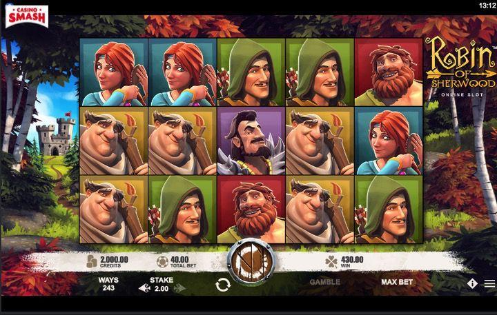 Robin of Sherwood 3D Slot