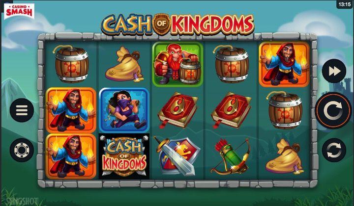 3D Slot 2019 Cash of Kingdoms