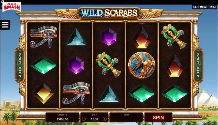 Wild Scarabs 3D slot Online