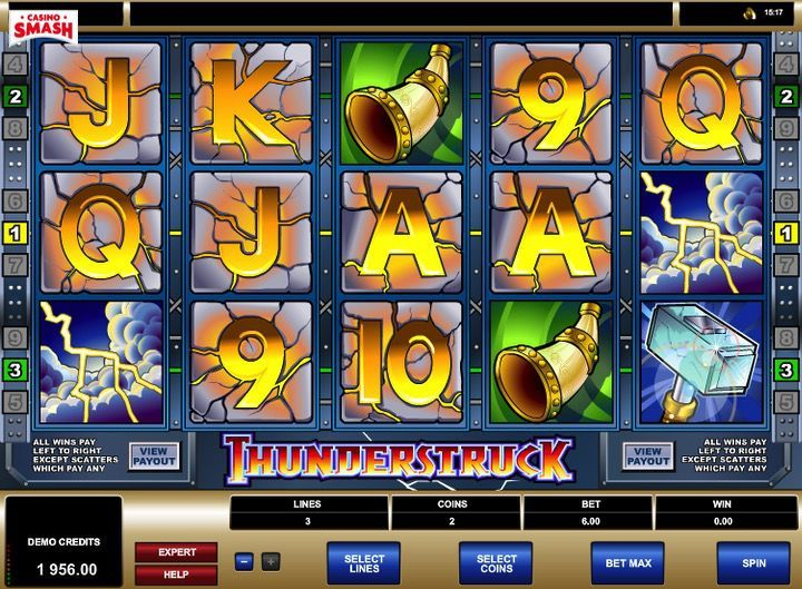 Thunderstruck slot 2D