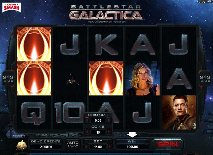 Battlestar Galactica Macchinette in 3D online