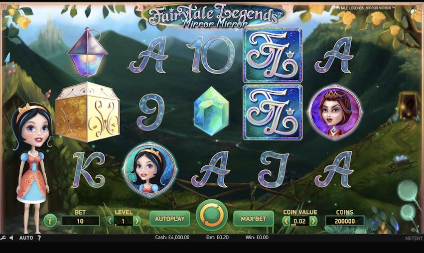 Casino Netent - Fairytale Mirror Slot Machine