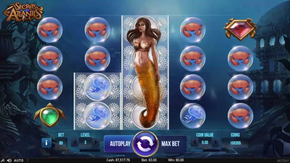 Secret of Atlantis - Slot Netent
