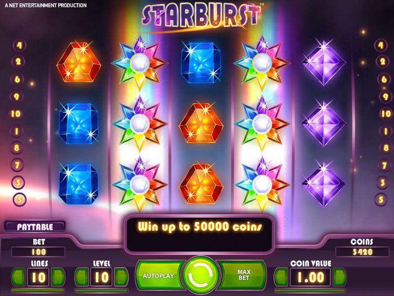 Starburst Slot - Solo nei Casino Netent