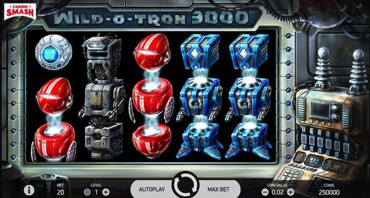 Wild-O-Tron 3000 Slot Mobile India