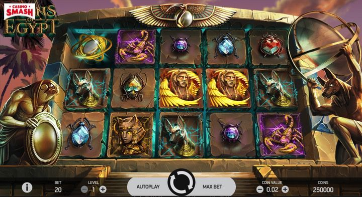 Coins of Egypt Slot Mobile India