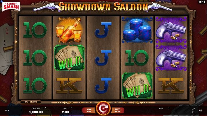 Showdown Saloon Slot Mobile India