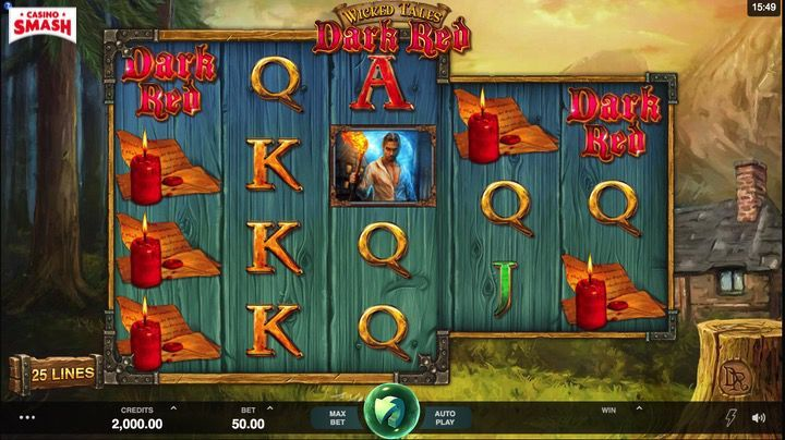 Wicked Tales Dark Red Slot Mobile India