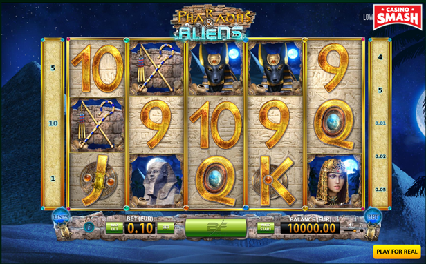 Pharaohs and Aliens Slot