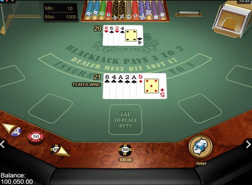 las vegas blackjack strategy