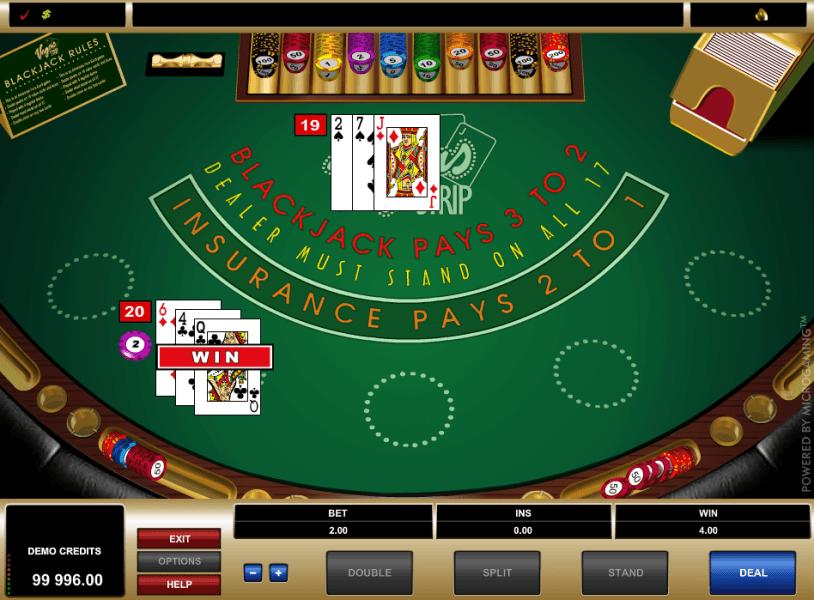 free blackjack play