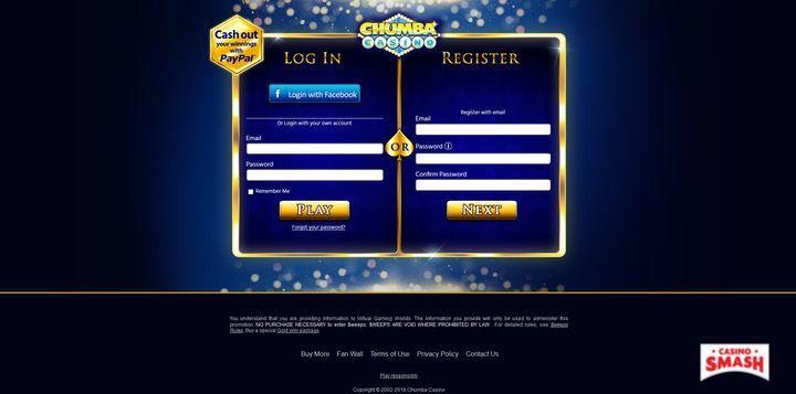 Chumba Casino top card games and slots free app
