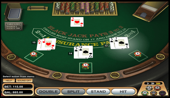 The Blackjack Table