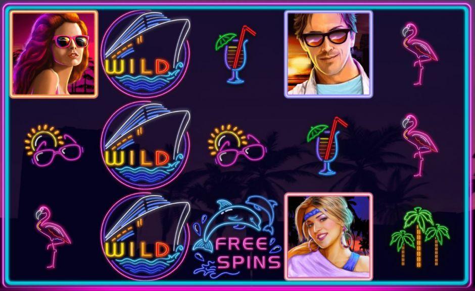 miami nights slot free