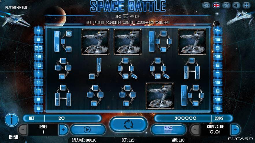 space battle slots free