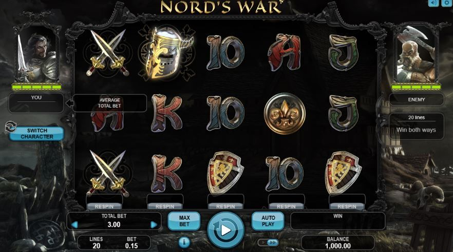 nord's war free slot