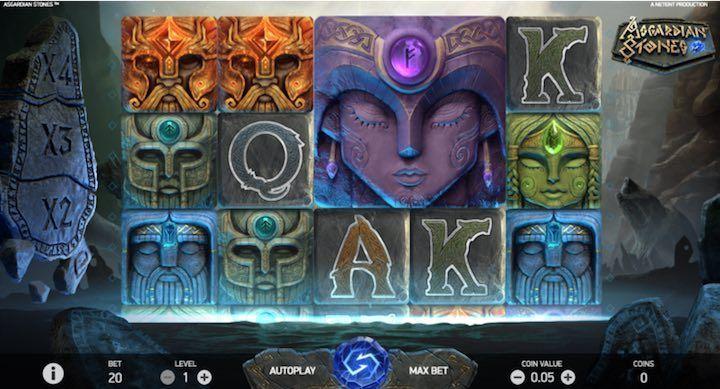 Slot Netent Asgardian Stones