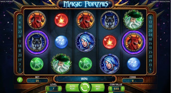 Video Slot da Bar Magic Portals