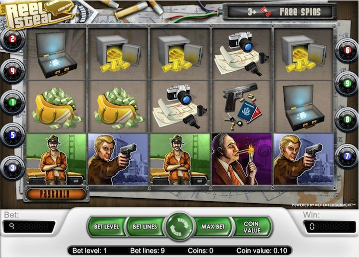 Reel Steel Slot Online