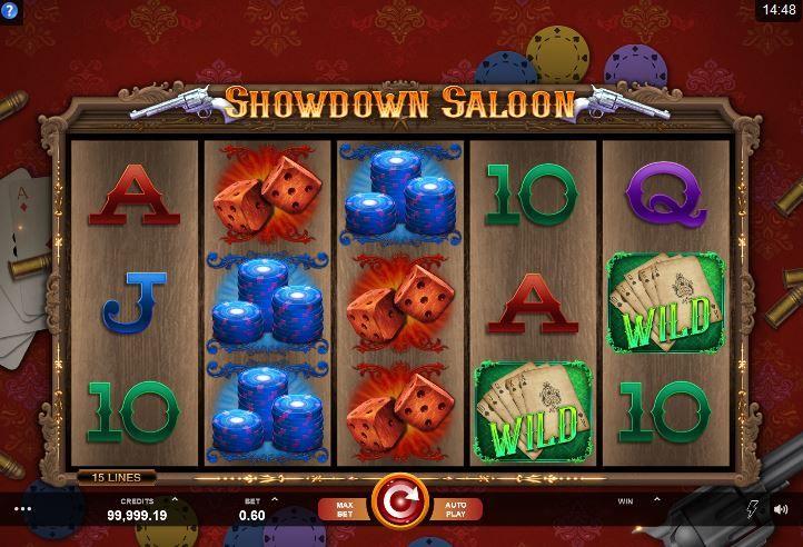 showdown saloon slot bonus free