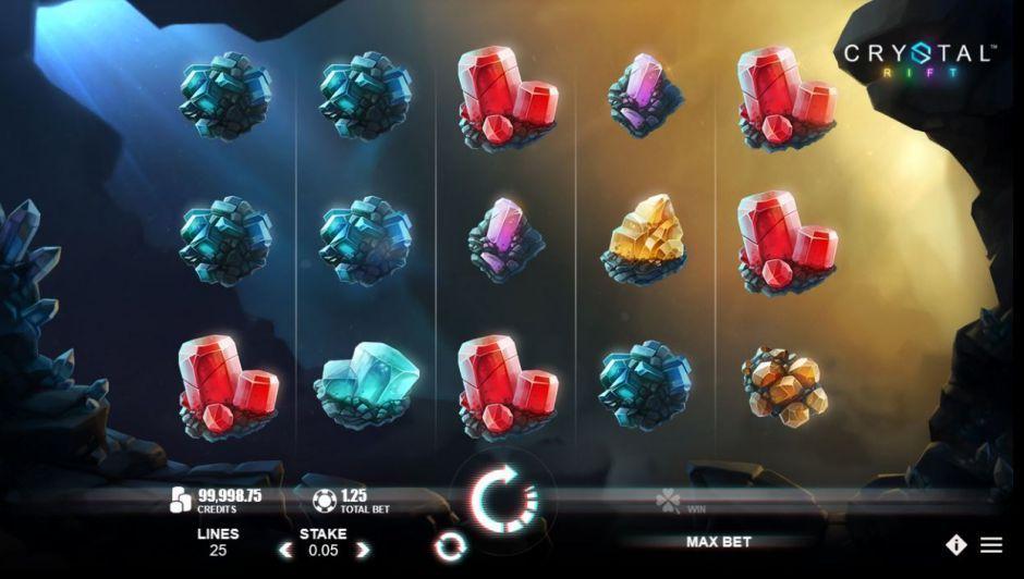 crystal rift bonus spins